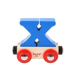 BigJigs lettertrein X