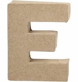 knutselen letter papier mache E