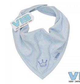 V.I.B. bandana slabbetje blauw