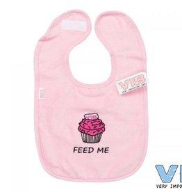 V.I.B. slabber roze cupcake feed me