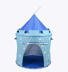 pop up tent blauw