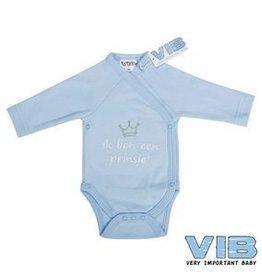 V.I.B. romper blauw prinsje