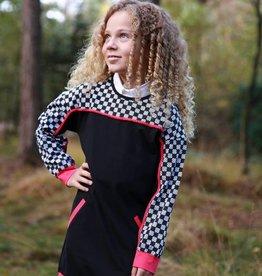 Lovestation22 jurk Nora zwart / wit