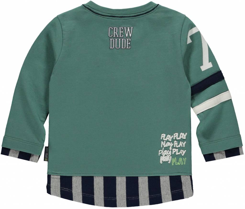 Quapi longsleeve Mack vintage green
