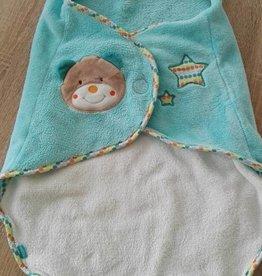 Babyfehn Bon Voyage Teddy omslagdeken