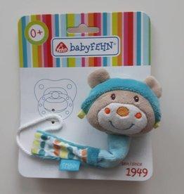 Babyfehn Bon Voyage speenketting Teddy