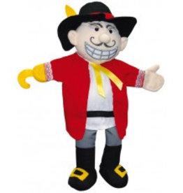 Clap-clap! handpop piraat / kapitein Haak