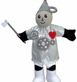 Clap-clap! handpop blikkenman (Tinman Wizard of Oz)
