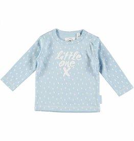 Bampidano baby lichtblauwe longsleeve aop little one x