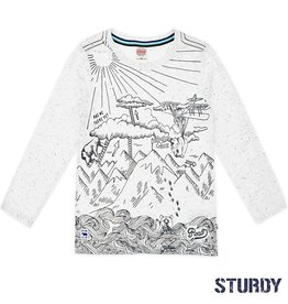 Sturdy offwhite longsleeve Expedition