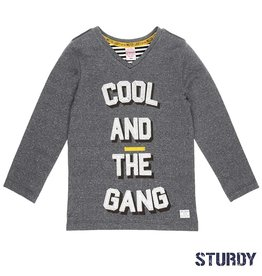 Sturdy antraciet longsleeve cool and the gang