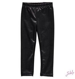 Jubel zwarte legging lederlook