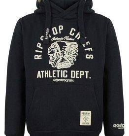 Ripstop zwarte sweater Maryland Hood