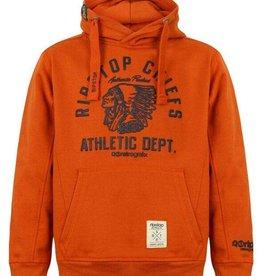 Ripstop donker oranje sweater Maryland Hood