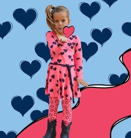 Happy Nr. 1 heart dancing dress pinks & blue