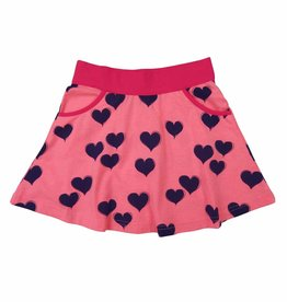 Happy Nr. 1 skirt hearts pinks & blue