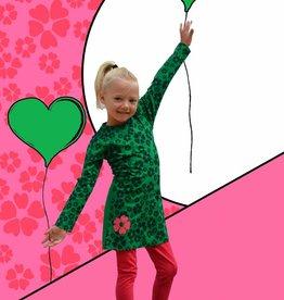 Happy Nr. 1 flower dress greens
