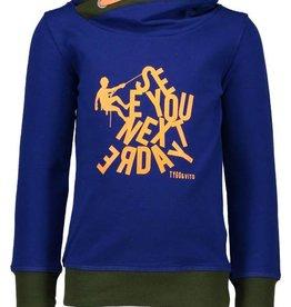 Tygo & vito blauwe sweater SEE YOU NEXTERDAY