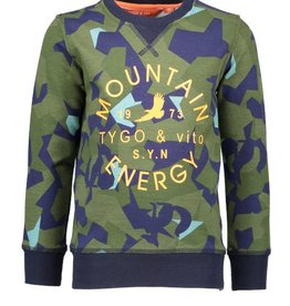 Tygo & vito sweater aop MOUNTAIN ENERGY