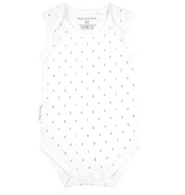 Frogs and Dogs witte romper aop