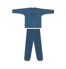 Frogs and Dogs donkerblauwe baby pyjama