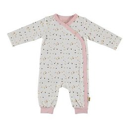 Bess wit boxpakje / onesie confettiprint