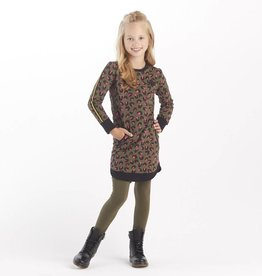 Chaos and Order Sweatdress Andrea olive