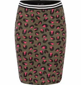 Chaos and Order Skirt Carlijn olive
