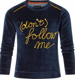 Chaos and Order Sweater Bodean navy