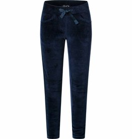 Chaos and Order velvet sweatpants Charlie navy