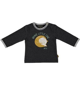 Bess antraciet longsleeve Brave Little One