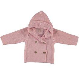 Bess cardigan, gebreid vest roze