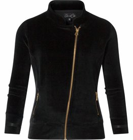 Chaos and Order Velvet jacket Bobbie black