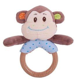 BigJigs houten ringrammelaar cheeky monkey