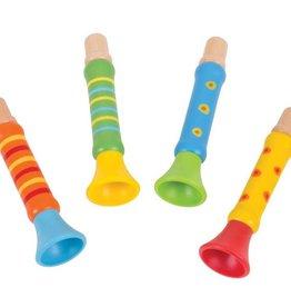 BigJigs houten trompetje