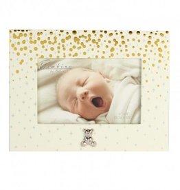 Bambino by J goud glitter fotolijstje