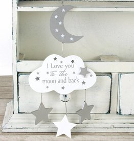Bambino by J houten hanger I love you to the moon...