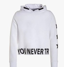 Blue Seven Teens hoody wit if you never try