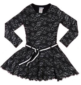 Lofff jurk Loffely - zwart/wit