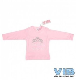 V.I.B. roze shirt dancing queen 6 mnd