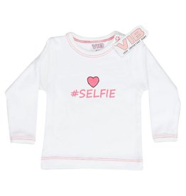 V.I.B. t-shirt selfie 0-3 maanden
