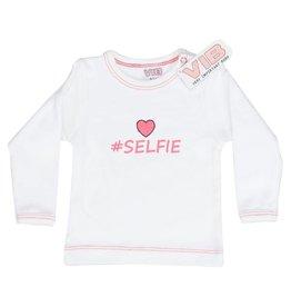 V.I.B. t-shirt selfie3-6 maanden