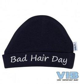 V.I.B. mutsje bad hair day navy