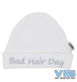 V.I.B. mutsje bad hair day wit