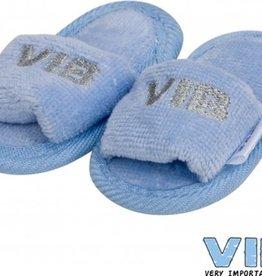 V.I.B. slippertjes blauw