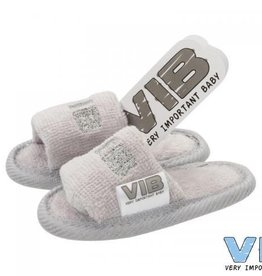 V.I.B. slippertjes grijs