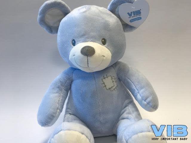 vib grote l.blauwe pluche beer 60 cm