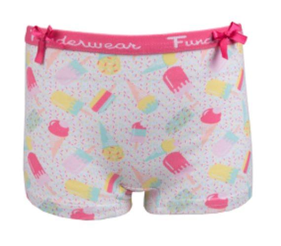 Fun2Wear meisjes boxershortje ice cream
