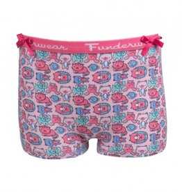 Fun2Wear meisjes boxershort rainbow cat