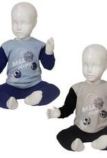Fun2Wear   Fun2Wear Pyjama ballplayer grijs